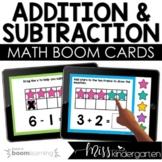 Kindergarten Math Addition Boom Cards™