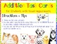 Addition Task Cards for Students with Visual Impairment