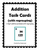 Addition Task Cards (with regrouping)