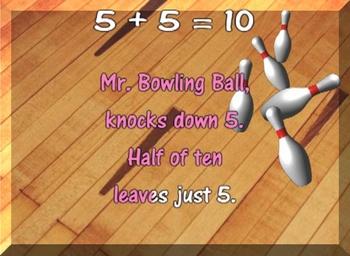 Addition Ten Facts - Ten Frame - Music Video - Math Song