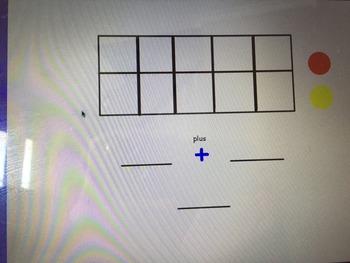 Addition Ten Frame Activity