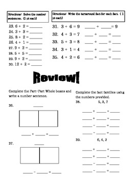 Envision Topic 2- Addition Test