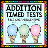 Addition Tests & Ice Cream Incentive
