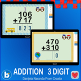 Addition Three Digit  3 Digit With Without Regrouping Boom