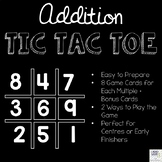 Addition Tic Tac Toe