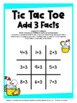 Addition Tic Tac Toe Freebie