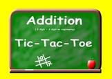 Addition Tic Tac Toe (no regrouping)