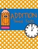 Addition Timed Test
