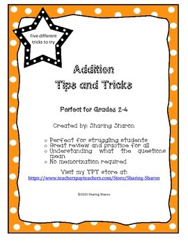 Addition Tips and Tricks