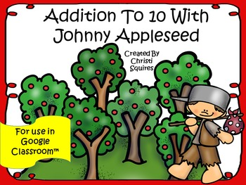 Addition To 10 With Johnny Appleseed (For Use In Google Cl