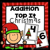 Addition Game First Grade Top It Christmas