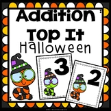 Addition Game First Grade Top It Halloween
