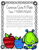 Addition Topic 7 Common Core Test Review