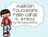 Addition Flash Cards (with touchpoints)