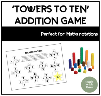 Addition 'Towers to Ten' Game
