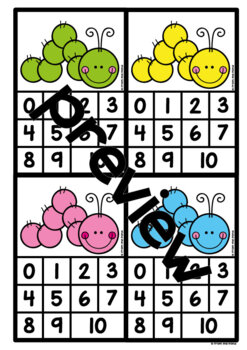 Addition & Subtraction Games {using a Number Line}