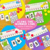 Number Line Addition & Subtraction Games