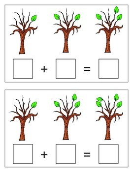 Addition Trees Activity