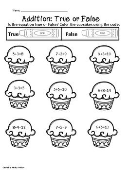 Addition:True or False