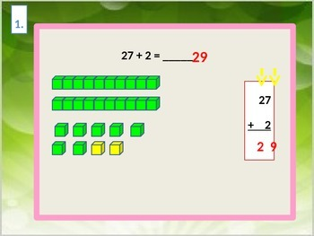 Addition Two-Digit Addition Using Models for Visual Learners