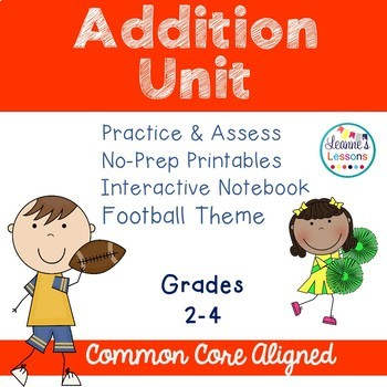 Addition Worksheets and Interactive Notebook