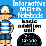 Addition Second Grade Math Notebook