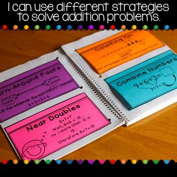 Addition Second Grade Math Notebook