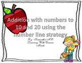 Addition Using A NUmber Line- Numbers to 10 and 20