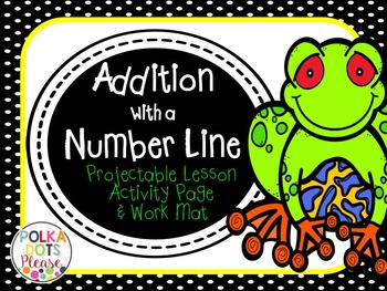 Addition Using a Number Line Lesson