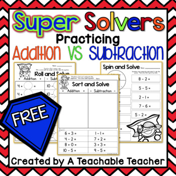 FREE Addition and Subtraction Practice