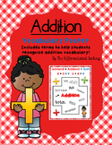 Addition Vocabulary Poster