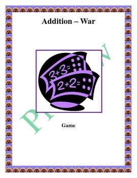 Addition War