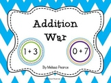 Addition War: An Addition Facts Game