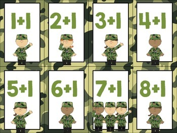 Addition War Game (Adding 0-9) First Grade MATH