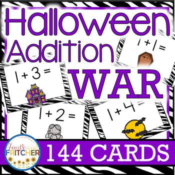 Addition War: Halloween