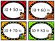 Addition War: Thanksgiving (2-digit + 2-digit)