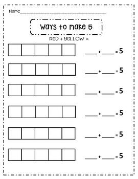 Addition - Ways to Make 4-10