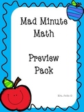 Mad Minute Preview Pack