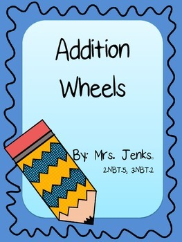 Addition Wheels Freebie