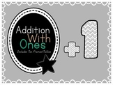 Addition With Ones Flashcards