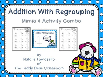 Addition With Regrouping Mimio and Activity Combo