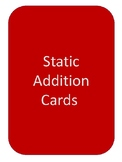 Addition Without Regrouping / Static Addition Problem Cards