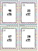 Addition With Regrouping Task Cards & Game (Easter) 2.NBT.5
