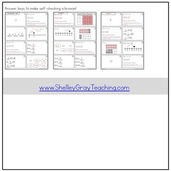 Addition With Sums to 20 Task Cards: FIRST GRADE