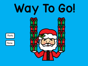 Addition Within 10 Counting Christmas Gifts with Santa for Google Slides™