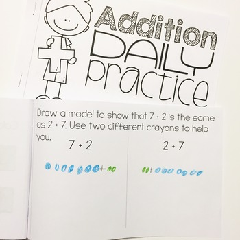 Addition Within 10 Daily Practice