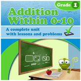 Addition Within 0-10 - Grade 1