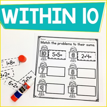 Addition Within 10 Practice Work Pages JUNE/JULY EDITION