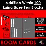 Addition Within 100 Using Virtual Base Ten Blocks