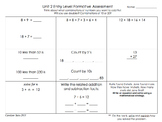 Common Core Math-Mental Math Strategies/Formative Assessments/Open Number Line
